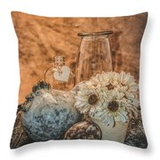 Country Chicken 2 Throw Pillow