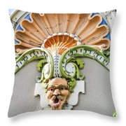 Country Club Plaza Throw Pillow