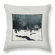 Country Doctor Throw Pillow