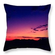 Country Dusk Throw Pillow