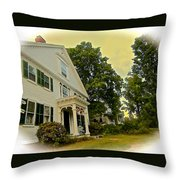 Country Elegance Throw Pillow
