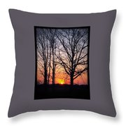 Country Glow Throw Pillow