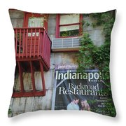 Country Goods Throw Pillow