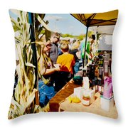 Country Herbs 1 Throw Pillow