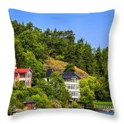 Country Homes Throw Pillow