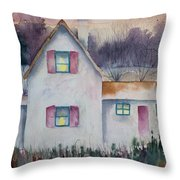 Country House Throw Pillow