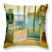 Country Kitchen Sunshine II Throw Pillow