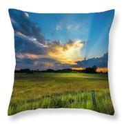 Country Life Throw Pillow