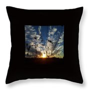 Country Living Throw Pillow