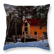 Country Living, Two Throw Pillow