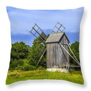Country Mill Throw Pillow