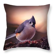 Country Mouse... Throw Pillow