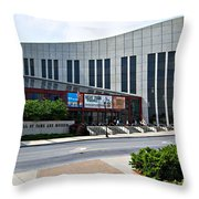 Country Music Hall Of Fame Nashville Throw Pillow