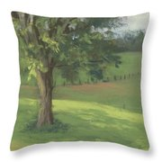 Country Quiet Throw Pillow