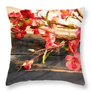 Country Quince Throw Pillow