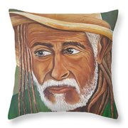 Country Rasta  Throw Pillow