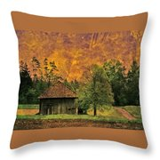 Country Road - Take Me Home Throw Pillow