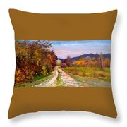 Country Road - Toscana Throw Pillow