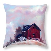 Country Sentinel Throw Pillow