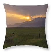 Country Serenity Throw Pillow
