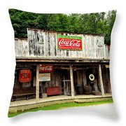 Country Store Throw Pillow