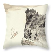 Country Trip Throw Pillow