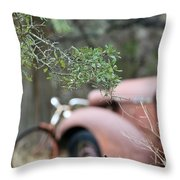 Country Truck Throw Pillow