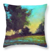 Country Twilight Throw Pillow