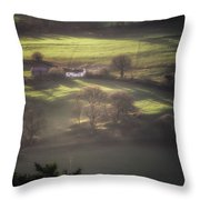 Countryside Dreaming Throw Pillow