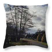 Countryside In Hermannstadt Throw Pillow