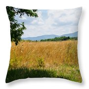 Countryside Of Italy 2 Throw Pillow