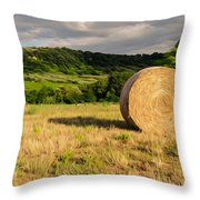 Countryside Of Italy 3 Throw Pillow