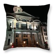 County Court House Throw Pillow