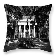 County Courthouse Throw Pillow