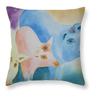 County Fair Throw Pillow by Tracy L Teeter