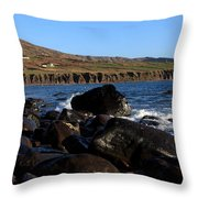 County Kerry Coastline Throw Pillow