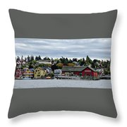 Coupeville Delight Throw Pillow