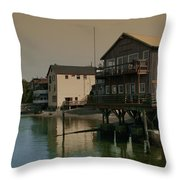 Coupeville Reflections Dm5014 Throw Pillow