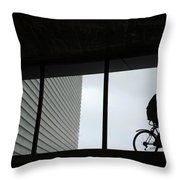 Couple At The Window Throw Pillow