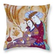 Couple Throw Pillow