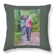 Couple In Love Throw Pillow