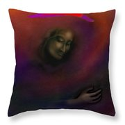 Courage To Create Throw Pillow