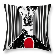 Courage To Proceed Throw Pillow