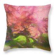 Courage Tree Throw Pillow