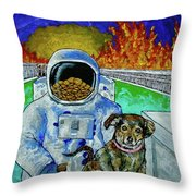 Deeper Experience In Retrospect Throw Pillow