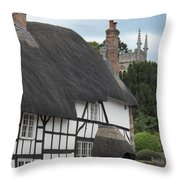 Court House Throw Pillow