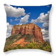 Courthouse Butte Throw Pillow