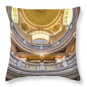 Courthouse Dome Throw Pillow