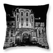 Courthouse In Kansas Throw Pillow