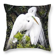 Courting Throw Pillow